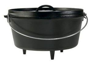 Lodge Logic Pre-Seasoned Camp Dutch Oven