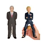 CBS Bill Clinton Corkscrew
