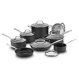 'Cuisinart Chef's Classic Nonstick' from the web at 'http://www.allcookwarefind.com/images/non-stick/cuisinart-chefs-classic-nonstick-160.jpg'