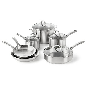 10 Best Stainless Steel Cookware Reviews 2019